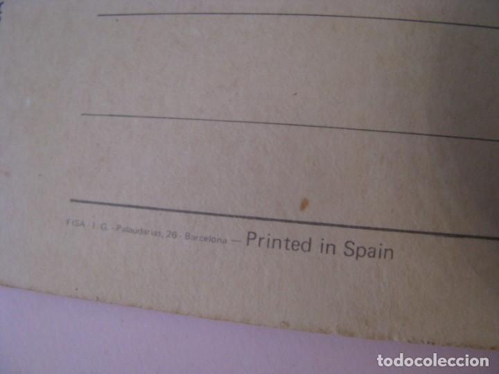 Postales: POSTAL DE CONCORDE. GREETINGS FROM LONDON. ED. ESCUDO DE ORO, FISA. 21,5X11 CM. - Foto 5 - 254000565