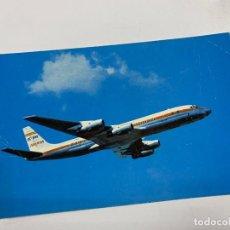 Postales: TARJETA POSTAL. DOUGLAS DC-8 TURBOFAN. IBERIA. Lote 254987620