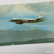 Postales: TARJETA POSTAL. CONVAIR CV 990 A CORONADO. IBERIA. Lote 254987805