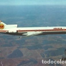 Postales: POSTAL A COLOR IBERIA BOEING 727 756. Lote 255380150