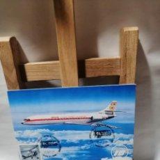 Postales: POSTAL IBERIA CARAVELLE X - R EXP. AEROFILATELICA SAE 78.60 ANIV. LINIA LATECOERE. Lote 262913025