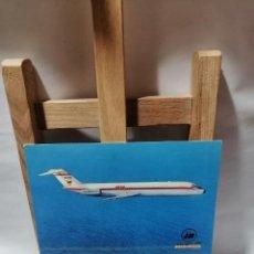 Postales: POSTAL IBERIA JET DOUGLAS DC - 9 EXP. AEROFILATELICA SAE 78.60 ANIV. LINIA LATECOERE. Lote 262913200