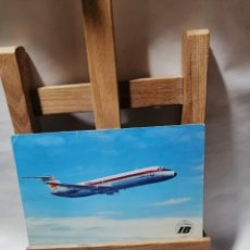 Postales: POSTAL IBERIA JET DOUGLAS DC - 9 CIRCULADA. Lote 262913360