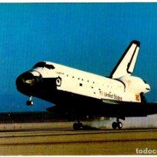 Postales: SHUTTLE LANDING BY COURTESY OF NASA - ATHENA - 146X108 MM. - INÉDITA EN TODOCOLECCIÓN. Lote 262984830