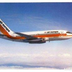 Postales: AVIÓN / PLANE AIR EUROPE, REINO UNIDO / UNITED KINGDOM.. Lote 267763199