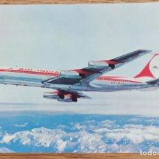 Postales: POSTAL - AVIÓN AIR- INDIA - BOEING 707 - AVIACIÓN. Lote 269377073