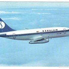 Postales: SOBELAIR (BÉLGICA). BOEING 737. EDICIÓN OFICIAL DE LA COMPAÑÍA. (VER DESCRIPCIÓN).. Lote 269985578