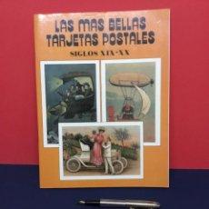 Postales: LAS MÁS BELLAS TARJETAS POSTALES. SIGLOS XIX-XX N.º 8. Lote 271632638