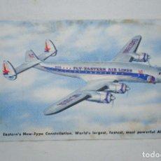 Postais: AVION DE PASAJERO , DE LA , FLY LINES .. Lote 274599928