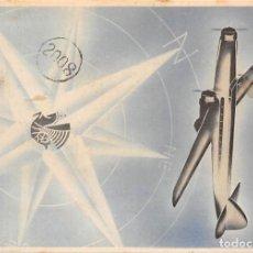 Postales: 1938. AIR FRANCE. CARTA POSTAL DE BRASIL A ARGENTINA. RARA. Lote 278623453