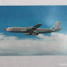 Postales: POSTAL AMERICAN AIRLINES THE 707 JET FLAGSHIP. Lote 278676568