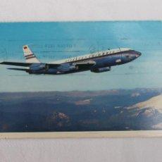 Postales: POSTAL BOEING JET AVIANCA 720 1964. Lote 278676848