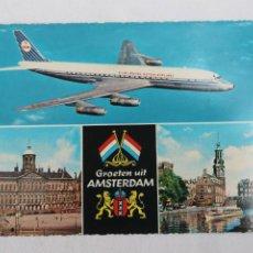 Postales: POSTAL AVION KLM ROYAL DUTCH AIRLINES. Lote 278677683
