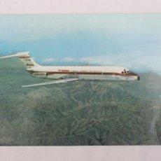 Postales: POSTAL AVION JET DOUGLAS DC-9 IBERIA LINEAS AEREAS DE ESPAÑA 1968. Lote 278677848