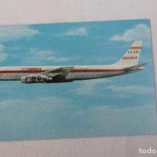 Postales: POSTAL AVION DOUGLAS DC-8 TURBOFAN LINEAS AEREAS DE ESPAÑA 1965. Lote 278682428