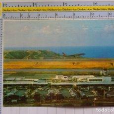 Postales: POSTAL DE AVIONES AEROLÍNEAS. AEROPUERTO SIMÓN BOLIVAR DE MAIQUETIA VENEZUELA.104. Lote 284593038
