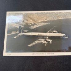 Postales: POSTAL AVION SABENA DOUGLAS DC-7C. Lote 285645733