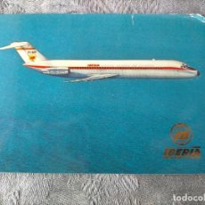 Postales: IBERIA AVION JET DOUGLAS DC 9 POSTCARD. Lote 287548578