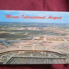 Postales: AEROPUERTO DE MIAMI. Lote 288646668