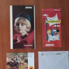 Postales: SET ANTIGUO, POSTALES CORREO AÉREO IBERIA COMPLETO. VER FOTOS Y DESCRIPCIÓN.. Lote 289846033