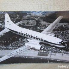 Postales: POSTAL DE LUFTHANSA CONVAIR 340 AÑOS 40-50. Lote 291911193
