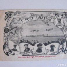 Postales: FRANCIA, 1909. AVICIÓN... Lote 292155278