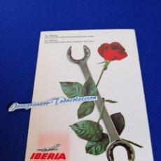 Postales: IBERIA LINEAS AÉREAS TARJETA POSTAL. Lote 294378938