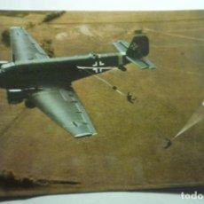 Cartoline: POSTAL AVION JUNKERS -- 2 GUERRA MUNDIAL ¡¡DORSO HISTORIA DEL APARATO. Lote 295521273
