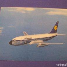 Postales: POSTAL DE LUFTHANSA. BOEING B737.. Lote 296617793
