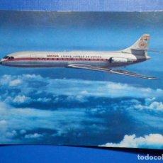 Postales: POSTAL AVIONES IBERIA - LINEAS AEREAS DE ESPAÑA - CARAVELLE X-R - ED. PUMERSA - NUEVA,1968. Lote 296916728