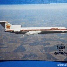 Postales: POSTAL AVIONES IBERIA - LINEAS AEREAS DE ESPAÑA - BOEING 727 /256 - ED. FISA - NUEVA. Lote 296917383