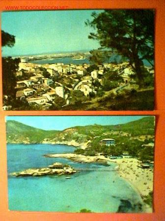 DOS POSTALES DE PALMA DE MALLORCA (Postales - España - Baleares Moderna (desde 1.940))