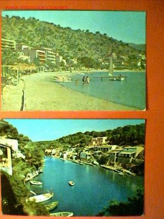 DOS POSTALES DE MALLORCA (Postales - España - Baleares Moderna (desde 1.940))