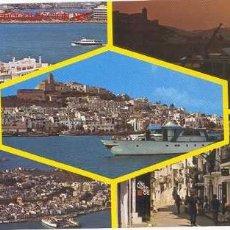 Postales: IBIZA - DIFERENTES VISTAS - AÑOS 60. Lote 26035178