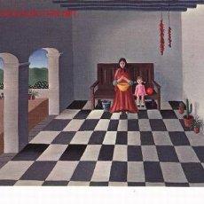 Postales: POSTAL DE IBIZA, OLEO DE UTA WOHLFARTH, 1973.. Lote 6843277