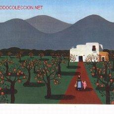 Postales: POSTAL DE IBIZA, OLEO DE UTA WOHLFARTH, 1973.. Lote 6843279