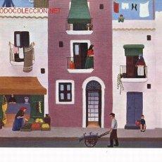 Postales: POSTAL DE IBIZA, OLEO DE UTA WOHLFARTH, 1973.. Lote 6843282