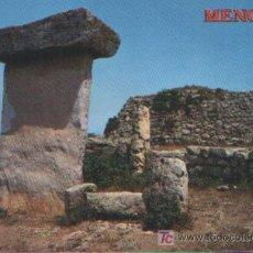 Postales: POSTAL DE MENORCA MONUMENTO PREHISTÓRICO. TAULA DE TREBUCO . Lote 3195183