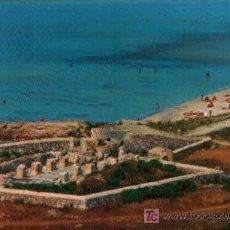 Postales: POSTAL DE MENORCA MONUMENTO PREHISTÓRICO. IGLESIA PALEOCRISTIANA PLAYA SON BOU . Lote 3195284