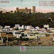 Postales: POSTAL DE PALMA DE MALLORCA. CASTILLO DE BELLVER. 1911. Lote 26602384