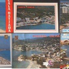 Postales: BONITO LOTE DE 17 POSTALES DE MALLORCA - SANTA PONSA, CALA MINOR, POLLENSA, SAN TELMO, CALA RATJADA,. Lote 22748259