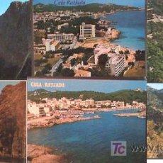 Postales: BONITO LOTE DE 19 POSTALES DE MALLORCA - CALA RATJADA, BAHIA DE ALCUDIA, HOTEL MARQUES DEL PALMER, L. Lote 22748247