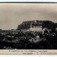 Postales: 8 POSTALES CARTUJA DE VALLDEMOSSA VISTA GENERAL Nº 1 EDICION LA INDUSTRIAL VALENCIA SIN CIRCULAR. Lote 4119717