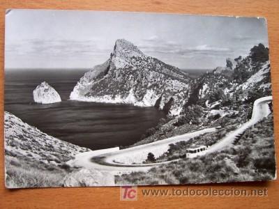 MALLORCA - PLLENSA - ES COLOMEREL CAMINO DE FORMENTOR - FOTO CASA PLANAS Nº 3408 - AÑOS 50-60 (Postales - España - Baleares Moderna (desde 1.940))