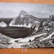 Postales: MALLORCA - PLLENSA - ES COLOMEREL CAMINO DE FORMENTOR - FOTO CASA PLANAS Nº 3408 - AÑOS 50-60. Lote 4410026