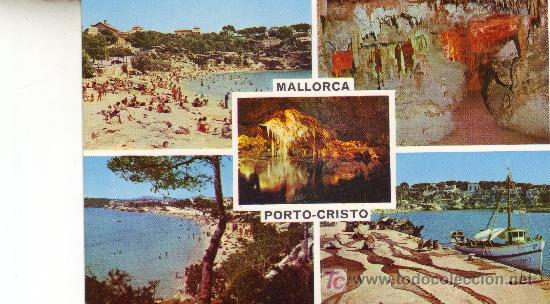 POSTAL NO CIRCULADA.PORTO CRISTO. MALLORCA. (Postales - España - Baleares Moderna (desde 1.940))