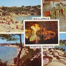 Postales: POSTAL NO CIRCULADA.PORTO CRISTO. MALLORCA.. Lote 4630164