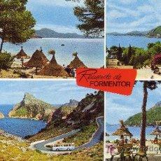 Postales: POSTAL NO CIRCULADA. MALLORCA. RECUERDO DE FORMENTOR.. Lote 4630178
