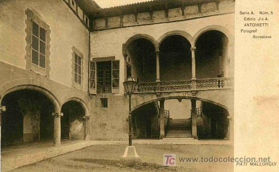 POSTAL DE MALLORCA, PATIO MALLORQUIN (Postales - España - Baleares Antigua (hasta 1939))