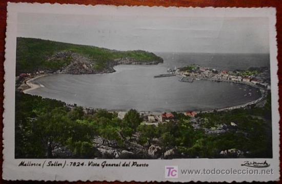 POSTAL SOLLER ( MALLORCA ) (Postales - España - Baleares Antigua (hasta 1939))